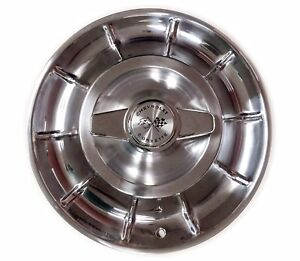 1956-1958 Corvette Wheel Covers/Hubcaps with Spinners - Set of 4 - New