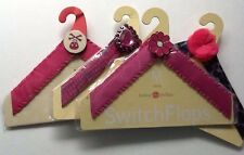 Lot of 4 Lindsay Phillips Switch FLOP STRAPS Size M  for Switch Flops Sandals