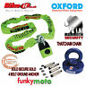 THATCHAM MOTORCYCLE 1.8M CHAINLOCK & OXFORD ROTAFORCE SOLD SECURE GROUND ANCHOR