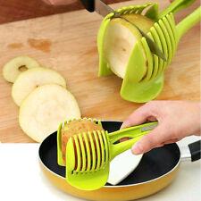 Potato Tomato Onion Lemon Vegetable Fruit Slicer Egg Cutter Holder Slicer USA