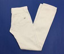 Gas jeans roxie s donna usato gamba dritta slim W29 L34 tg 43 bianco T3814