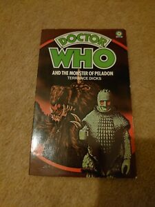 Doctor Who The Monster Of Peladon Signed Jon Pertwee Target Rare