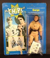 """Mego 1977 CHiPs- Sarge 8"""" -Carded Figure- (188)"""