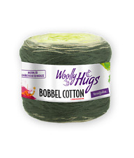 Woolly Hugs Bobbel Cotton �™� Wolle 200g Wolly 4-fach Farbverlauf Pro Lana Wooly