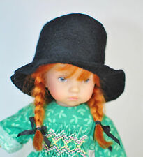 Boneka TOP HAT from woolfelt for dolls with a head circumference of ca.18cm / 7""
