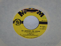 "HOWARD KEEL My Defenses Are Down/Doin' What Comes 7"" 45 MGM 45-8004 VG+"