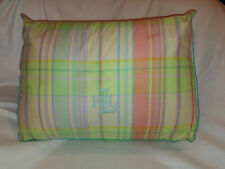 Lauren Ralph LRL University Shirting Plaid Wedge Decorative Pillow Room Decor