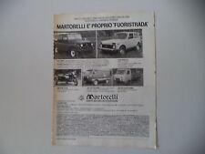 advertising Pubblicità 1982 LADA NIVA 2121/UAZ 469 B/452 PULLMINO/AUTOCARRO