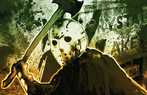"""Jason Voorhees Friday The 13th """"Crystal Lake Doom"""" high quality 11 x 17 poster"""