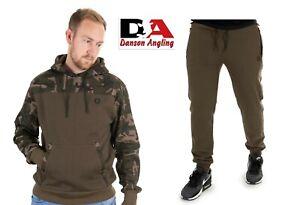 Fox Khaki / Camo Hoodie & Joggers All Sizes NEW Carp Fishing Clothing