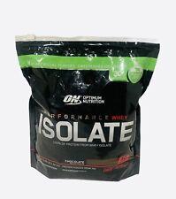 Optimum Nutrition Performance Whey Isolate Chocolate Powder EXP12/22