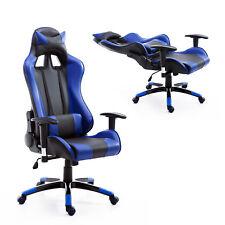 Race Car Style High Back Office Reclining Chair Ergonomic Swivel Seat