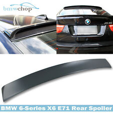 Painted For BMW X6 Series E71 Hatchback 5D Rear Visor Roof Spoiler 14