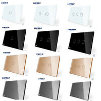 Livolo AU 1/2/3 Gang 1Way Dimmer Control Touch Switch