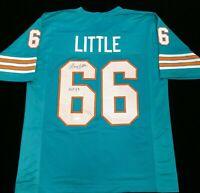 Larry Little HOF Signed Autographed Football Jersey JSA COA Miami Dolphins Great