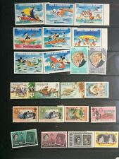 TURKS & CAICOS selection over 2 sheets MNH