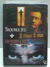 DVD *** LOT DE 2 FILMS TROUBLE JEU +  LES NERFS A VIF *** ( neuf sous blister )