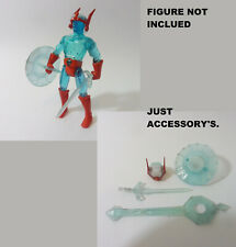 Remco Crystar accessory's remplacement resin clear lot motu,blackstar period...