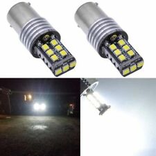 Hot Sell 2Pcs 1156 P21W BA15S 2835 15LED Canbus Car Backup Tail Light Bulb White