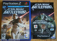 STAR WARS BATTLEFRONT for SONY PS2 & (60GB VERSION OF PS3 ONLY) COMPLETE