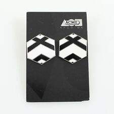 "Vintage M.C. Escher Licensed ""Hex"" Earrings by Acme Studio Pre-Owned"