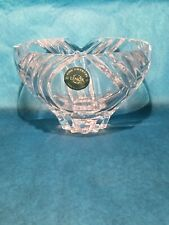 Lenox Fine Crystal Candy Dish Made In Slovenia