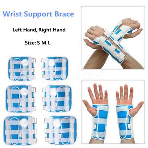 ~l Carpal Tunnel Wrist Brace Support Sprain Forearm Splint Band Stra