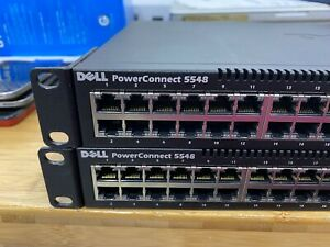 Dell PowerConnect 5548 Gigabit Ethernet Switch Rack Mount