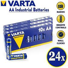 24x VARTA AA Industrial Alkaline Batteries 4006 MN1500 1.5V LR6 MIGNON