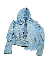 C9 CHAMPION Hoodie women's Size L Active SOFTSHELL DUO-DRY Full-Zip Turquoise