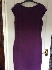 Adrianna papell size 16 bodycon dress party wedding Christmas