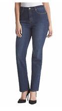 GLORIA Vanderbilt Ladies' Amanda Skinny Denim Jeans Blue Sz 18 Short Sculpt NEW