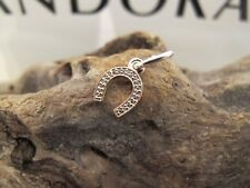 Rose gold Pandora Symbol of LUCK CHARM Pendent 791356cz NEW