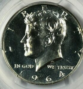 1964 Silver PCGS PR67 RARE ACCENTED HAIR VARIETY John F. Kennedy Half 50c Proof