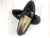 MARAOLO Crocodile Skin Mens Shoes US 9.5 Black Mint Condition 331 42