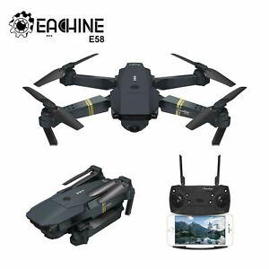 Eachine E58 WIFI FPV 720P 1080P HD Camera Foldable RC Drone Quadcopter RTF