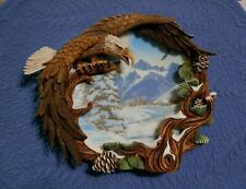 Hamilton Collection Plate Four Seasons of the Eagle Winter Solstice