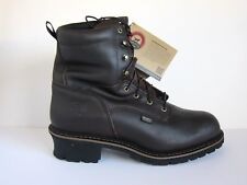 """NEW Red Wing Logger Irish Setter 8"""" Soft Toe EH Insulated 83809 Boots 15D 15 D"""