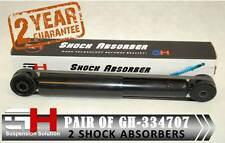 2 NEW REAR GAS SHOCK ABSORBERS FOR VW CADDY III 2K, LIFE 2K 2004 ///GH-334707///