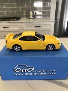 OttO mobile OTM005RT 1:18 Nissan Silvia Spec R S15 Yellow 200sx Model car