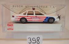 Busch 1/87 Nr. 47622 Chevrolet Caprice U.S. Police Museum Arkansas OVP #398