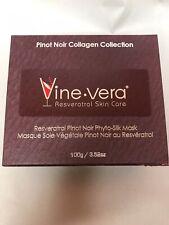 Vine-Vera Resveratrol Pinot Noir Phyto-Silk Mask Brand New 3.52 oz