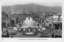 Spain Exposicion Internacional de Barcelona Magic Fountain 1929