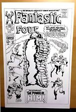 Marvel Comics Fantastic Four #67 First appearance of warlock Re-creation