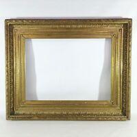 109 x 88 cm Gemälde Bilderrahmen Antique Frame Klassizismus Empire Goldrahmen