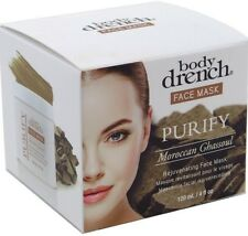 Body Drench Face Mask Purify Moroccan Ghassoul 4 oz