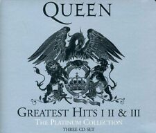 Queen Greatest Hits I, II & III - Platinum Collection by Queen (CD, 2011, 3-Discs)