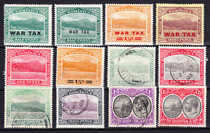 Dominica-Group of early Dominica. MM & Used