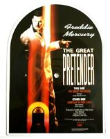 Near Mint NM Freddie Mercury Queen The Great Pretender Shaped Vinyl Picture Disc