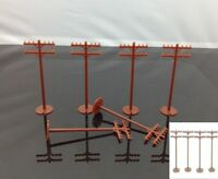 Model Railway 42102 Bachmann HO Scale Telephone Poles (24 pieces) New Scenery